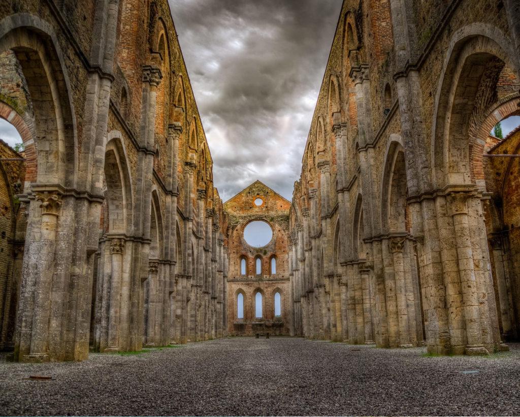 Nei dintorni di San Gimignano