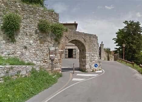 San Gimignano porta di quercecchio