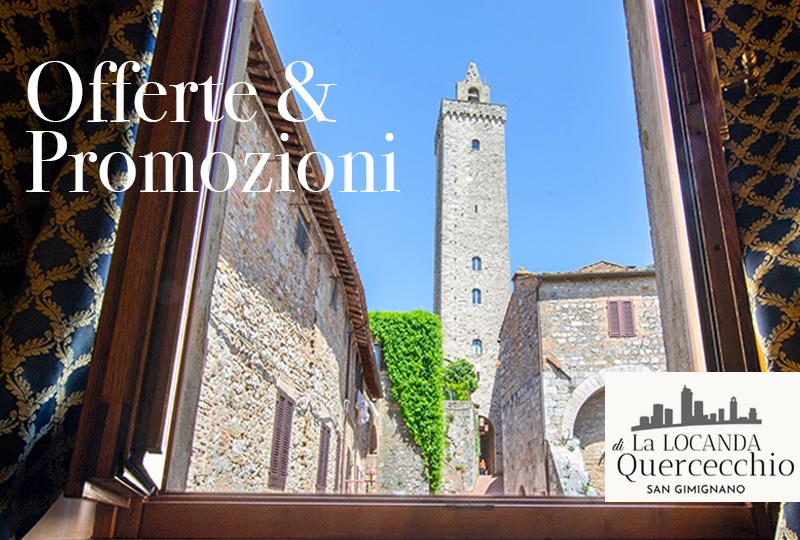 Offerte e promozioni affittacamere San Gimignano